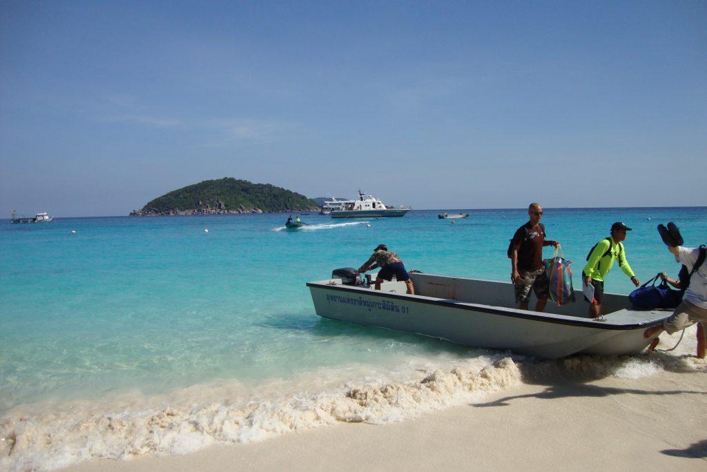 similan beach
