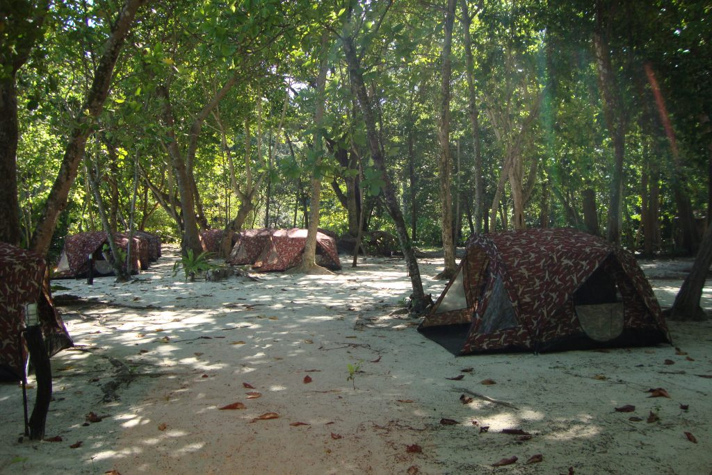 Camping Similan Islands Thailand