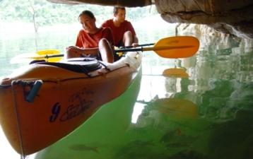 sea canoeing Phang Nga